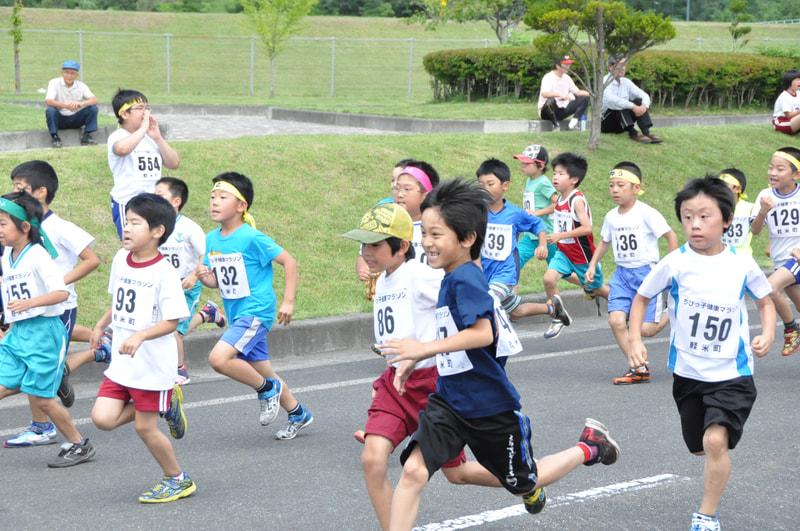 ちびっ子健康マラソン